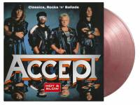 ACCEPT - HOT & SLOW (SILVER & RED MARBLED vinyl 2LP)