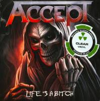 ACCEPT - LIFE'S A BITCH (CLEAR vinyl 7