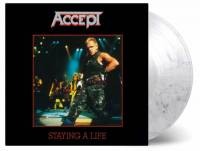 ACCEPT - STAYING A LIFE (SMOKE-COLOURED vinyl 2LP)