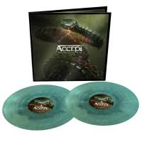 ACCEPT - TOO MEAN TO DIE (BLUE/GREEN SWIRL vinyl 2LP)
