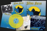 ALIEN FORCE - HELL AND HIGH WATER (YELLOW vinyl LP)