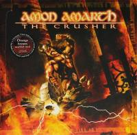 AMON AMARTH - THE CRUSHER (ORANGE/BROWN MARBLED vinyl LP)