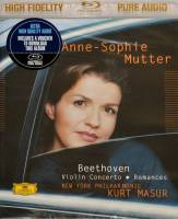 ANNE-SOPHIE MUTTER - BEETHOVEN: VIOLIN CONCERTO (BLU-RAY AUDIO)