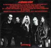 ANNIHILATOR - CRITERIA FOR A BLACK WIDOW (CD)