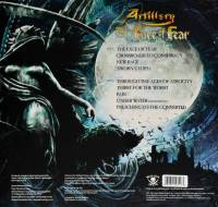 ARTILLERY - THE FACE OF FEAR (OPAQUE GREY/ BLUE MARBLED vinyl LP)