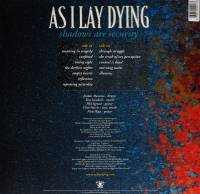 AS I LAY DYING - SHADOWS ARE SECURITY (BLUE/BLACK MARBLED vinyl LP)