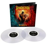 BENEDICTION - SCRIPTURES (CLEAR vinyl 2LP)