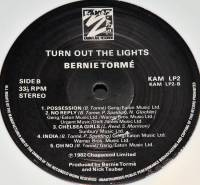 BERNIE TORME - TURN OUT THE LIGHTS (WHITE vinyl LP)