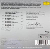 LEONARD BERNSTEIN - BEETHOVEN: 9 SYNPHONIES (5CD + BLU-RAY AUDIO BOX SET)