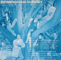 BIRMINGHAM SUNDAY - A MESSAGE FROM BIRMINGHAM SUNDAY (LP)