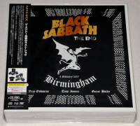 BLACK SABBATH - THE END: BIRMINGHAM, 4 FEBRUARY 2017 (3LP + 3CD + BLU-RAY + DVD BOX SET)