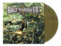 BOLT THROWER - HONOUR-VALOUR-PRIDE (OLIVE KHAKI MARBLED vinyl 2LP)