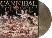 CANNIBAL CORPSE - GORE OBSESSED (CLEAR GREY/BROWN MARBLED vinyl LP)