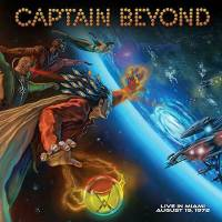 CAPTAIN BEYOND - LIVE IN MIAMI AUGUST 19, 1972 (BLUE vinyl LP)