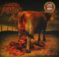 CATTLE DECAPITATION - HUMANURE (OLIVE GREEN/RED & BROWN vinyl LP)