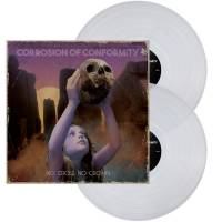 CORROSION OF CONFORMITY - NO CROSS NO CROWN (CLEAR vinyl 2LP)