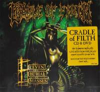 CRADLE OF FILTH - ELEVEN BURIAL MASSES (CD + DVD)