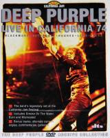 DEEP PURPLE - LIVE IN CALIFORNIA 74 (DVD)