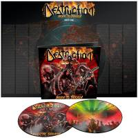 DESTRUCTION - BORN TO THRASH: LIVE IN GERMANY (PICTURE DISC 2LP)