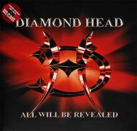 DIAMOND HEAD - ALL WILL BE REVEALED (RED vinyl LP)