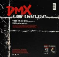 DMX - X GON' GIVE IT TO YA (RED vinyl 12
