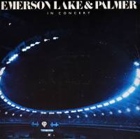 EMERSON LAKE & PALMER - IN CONCERT (LP)