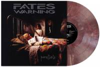 FATES WARNING - PARALLELS (WINE-RED MARBLED vinyl LP)