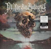 FIT FOR AN AUTOPSY - SEA OF TRAGIC BEASTS (CLEAR w/ WHITE POUR & SPLATTER vinyl LP)