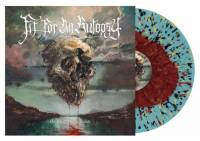 FIT FOR AN AUTOPSY - SEA OF TRAGIC BEASTS (RED in BLUE w/ SPLATTER vinyl LP)