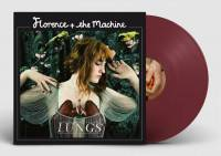 FLORENCE AND THE MACHINE - LUNGS (BURGUNDY LP)