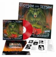 FLOTSAM AND JETSAM - DOOMSDAY OF THE DECEIVER (RED/WHITE MARBLED vinyl LP)