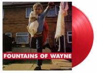 FOUNTAINS OF WAYNE - FOUNTAINS OF WAYNE (RED vinyl LP)
