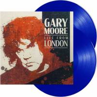 GARY MOORE - LIVE FROM LONDON (BLUE vinyl 2LP)