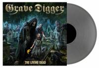 GRAVE DIGGER - THE LIVING DEAD (SILVER vinyl LP)