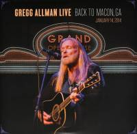 GREGG ALLMAN - GREGG ALLMAN LIVE: BACK TO MACON, GA (2CD)