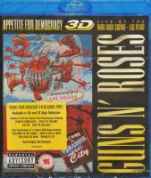 GUNS N' ROSES - APETITE FOR DEMOCRACY 3D: LIVE AT THE HARD ROCK CASINO - LAS VEGAS (BLU-RAY)