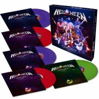 HELLOWEEN - UNITED ALIVE IN MADRID (VIOLET/RED/GREEN vinyl 5LP BOX SET)