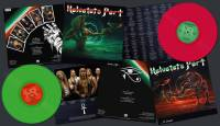 HELVETETS PORT - FROM LIFE TO DEATH (NEON MAGENTA/NEON GREEN vinyl 2LP)