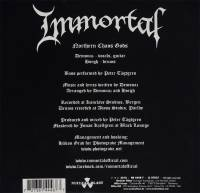 IMMORTAL - NORTHERN CHAOS GODS (7