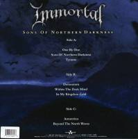 IMMORTAL - SONS OF NORTHERN DARKNESS (CLEAR vinyl 2LP)