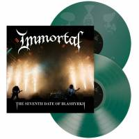 IMMORTAL - THE SEVENTH DATE OF BLASHYRKH (GREEN vinyl 2LP)