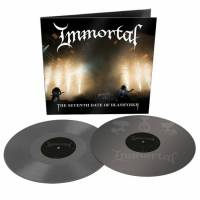 IMMORTAL - THE SEVENTH DATE OF BLASHYRKH (GREY vinyl 2LP)