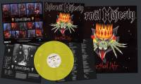 INFERNAL MAJESTY - NONE SHALL DEFY (PISS YELLOW vinyl LP)