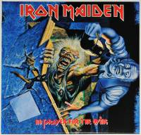 IRON MAIDEN - NO PRAYER FOR THE DYING (LP)