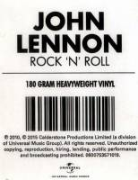 JOHN LENNON - ROCK 'N' ROLL (LP)