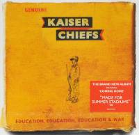 KAISER CHIEFS - EDUCATION, EDUCATION, EDUCATION & WAR (CD)