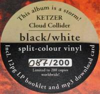 KETZER - CLOUD COLLIDER (BLACK/WHITE vinyl LP)