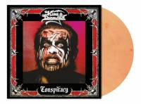 KING DIAMOND - CONSPIRACY (CLEAR SKIN ORANGE MARBLED vinyl LP)
