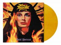 KING DIAMOND - FATAL PORTRAIT (GOLDEN YELLOW MARBLED vinyl LP)