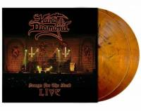 KING DIAMOND - SONGS FOR THE DEAD LIVE (ORANGE-BROWN/BLACK MARBLED vinyl 2LP)